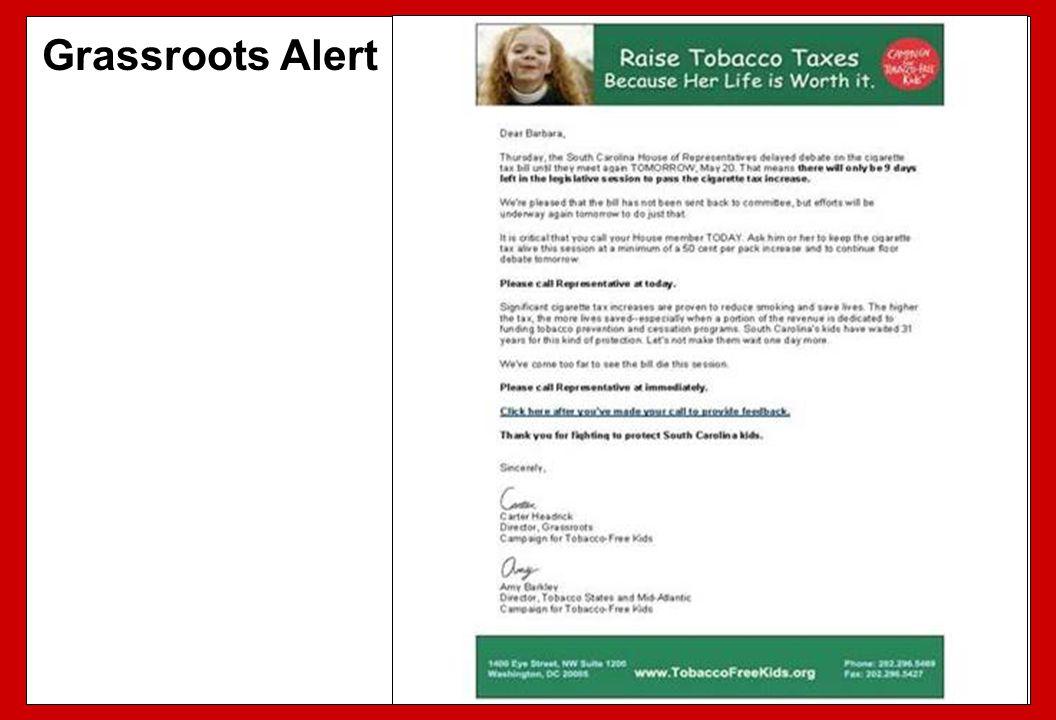 Grassroots Alert 97 97