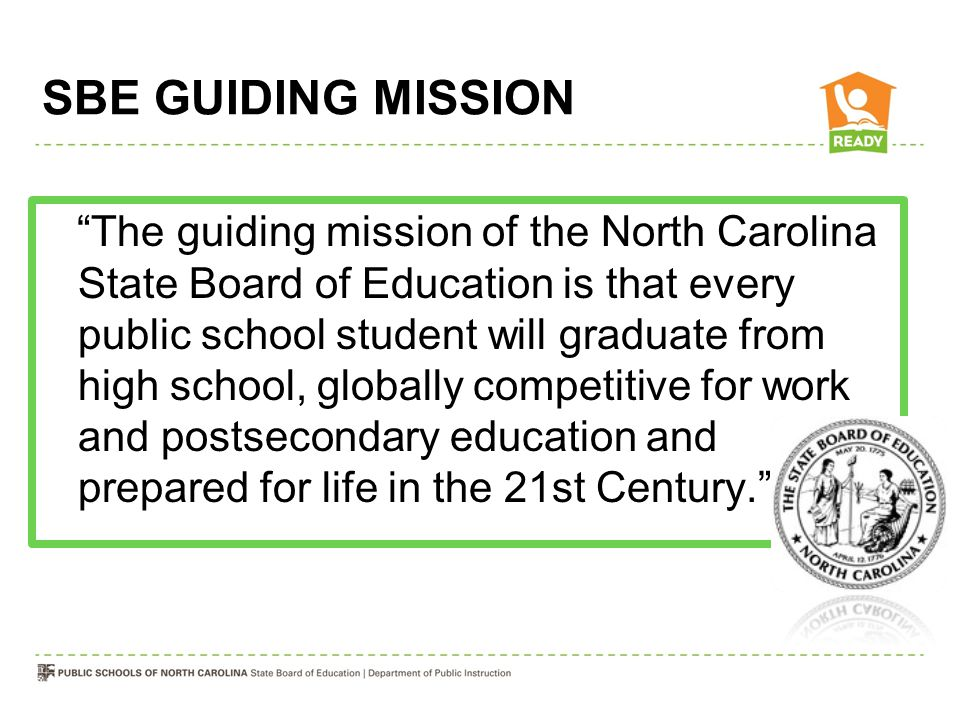 SBE GUIDING MISSION