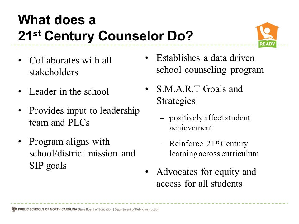 What does a 21st Century Counselor Do