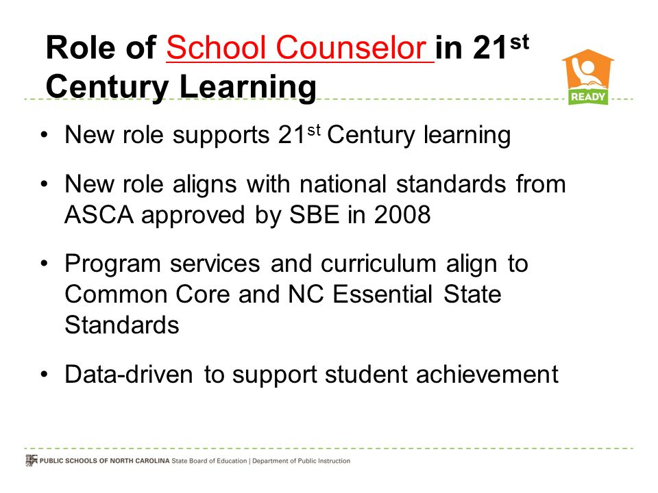 Role of School Counselor in 21st Century Learning
