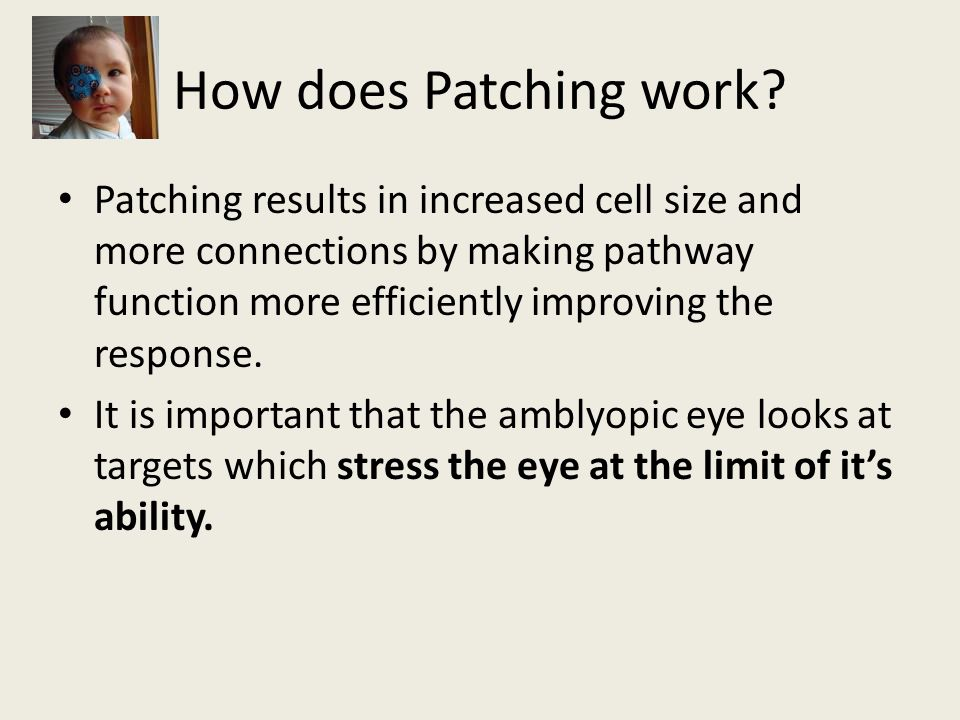 How does Patching work