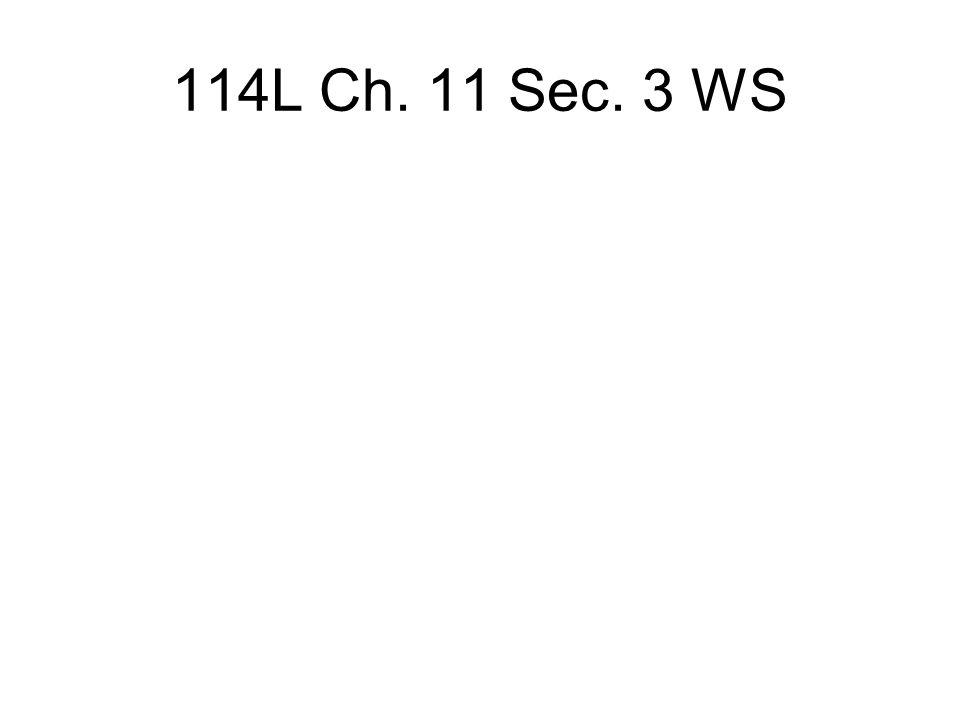 114L Ch. 11 Sec. 3 WS