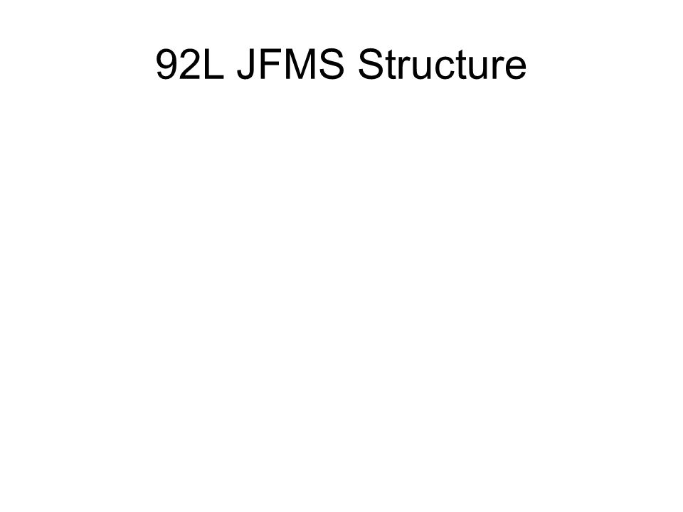 92L JFMS Structure