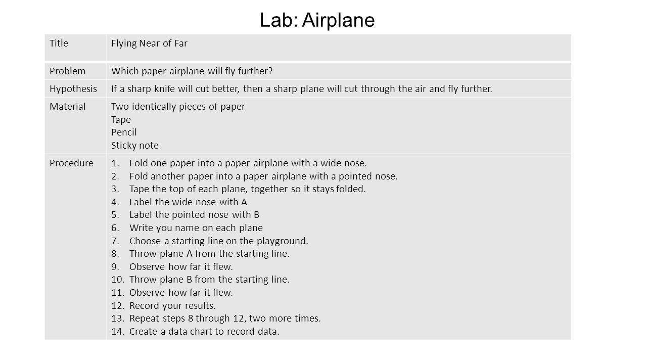 Lab: Airplane Title Flying Near of Far Problem