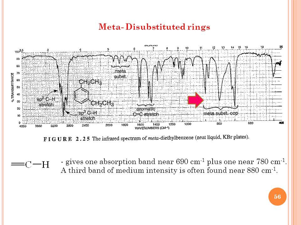 Meta- Disubstituted rings