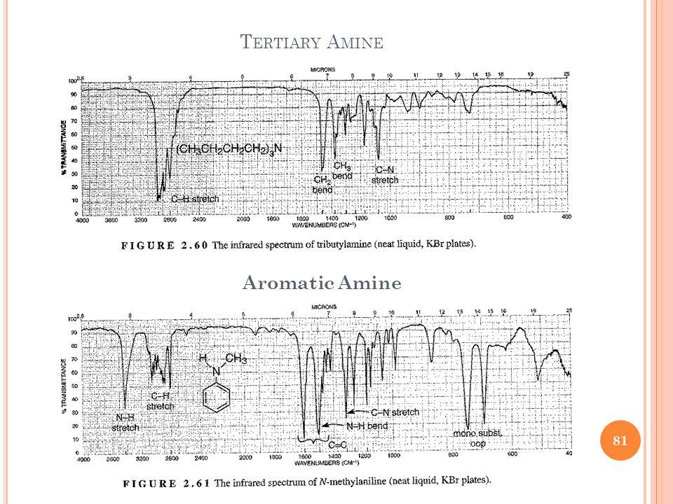 Tertiary Amine Aromatic Amine