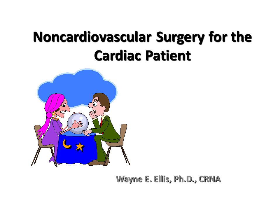 Noncardiovascular Surgery for the Cardiac Patient