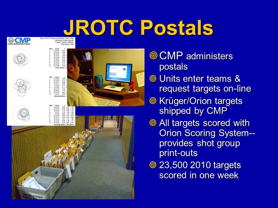 JROTC Postals CMP administers postals