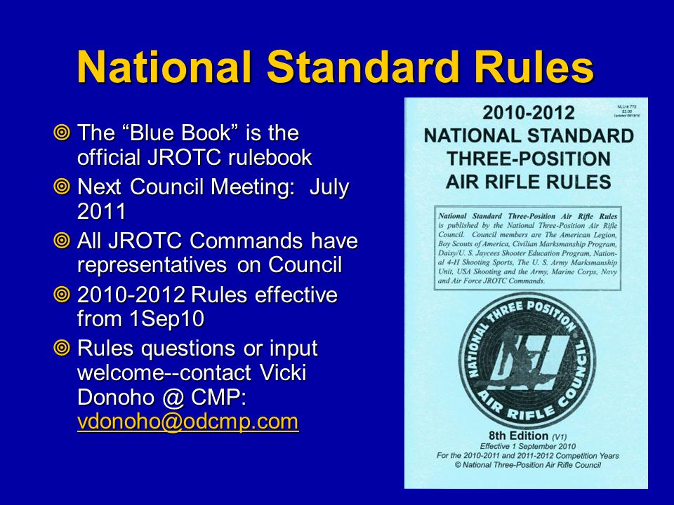 National Standard Rules
