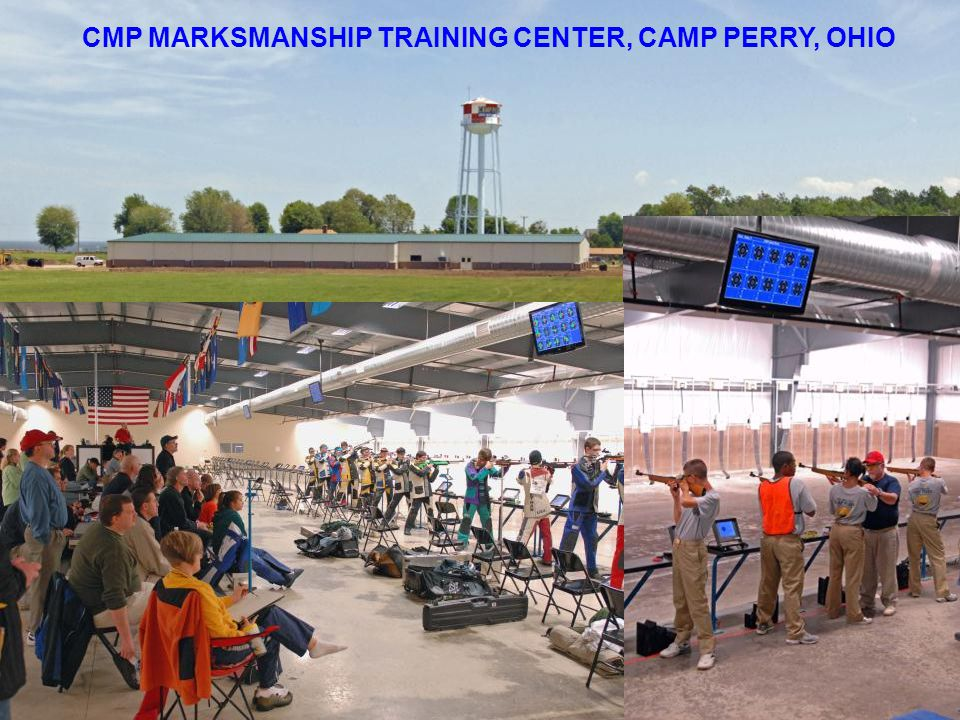 CMP MARKSMANSHIP TRAINING CENTER, CAMP PERRY, OHIO