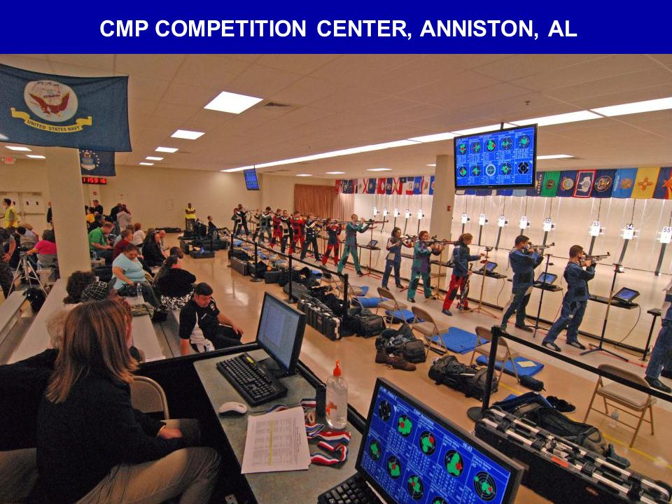 CMP COMPETITION CENTER, ANNISTON, AL