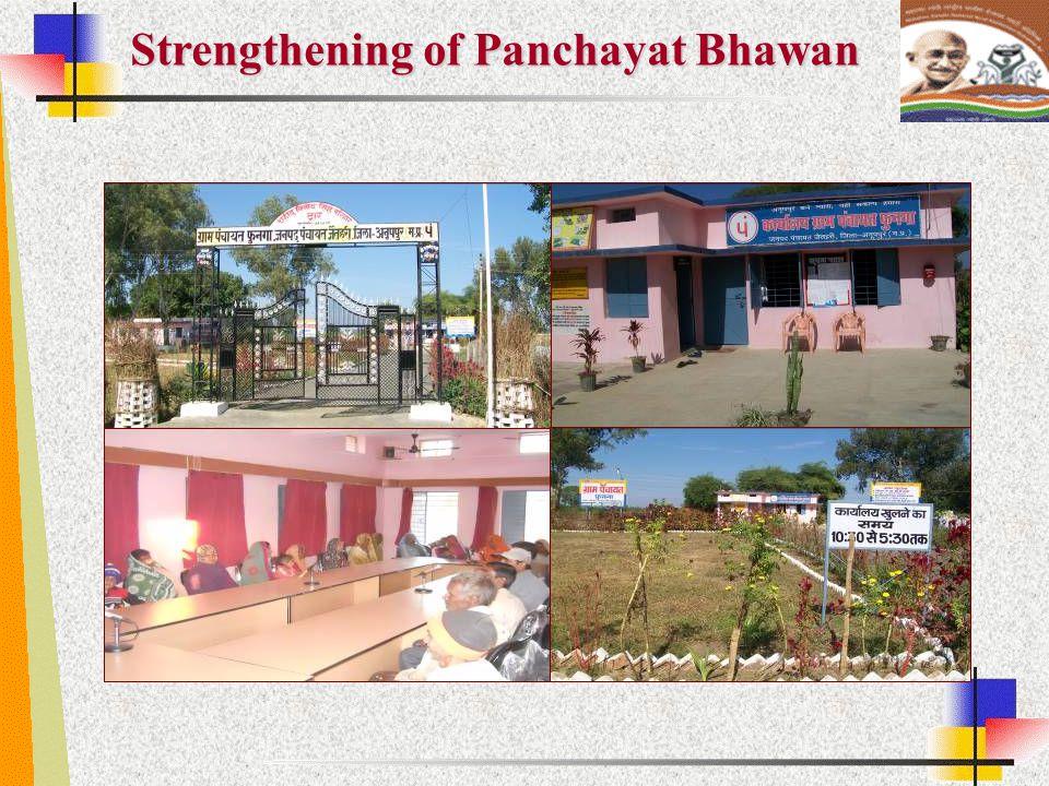 Strengthening of Panchayat Bhawan