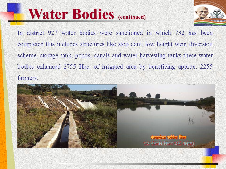 Water Bodies (continued)