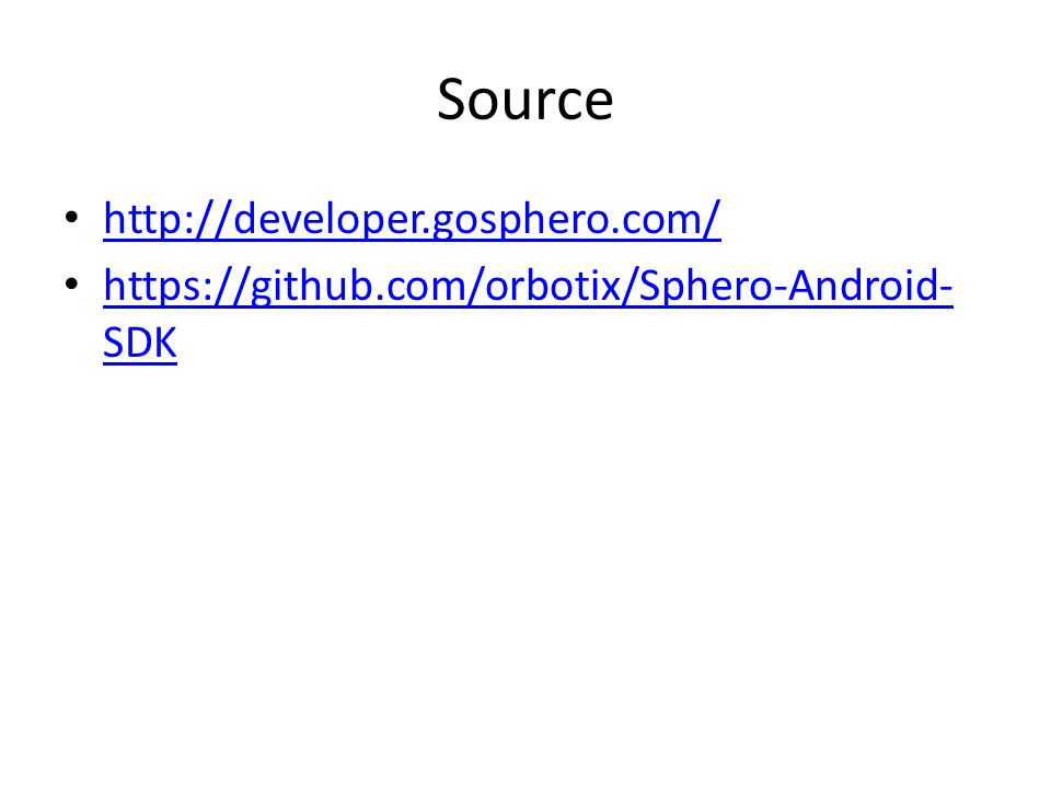 Source http://developer.gosphero.com/