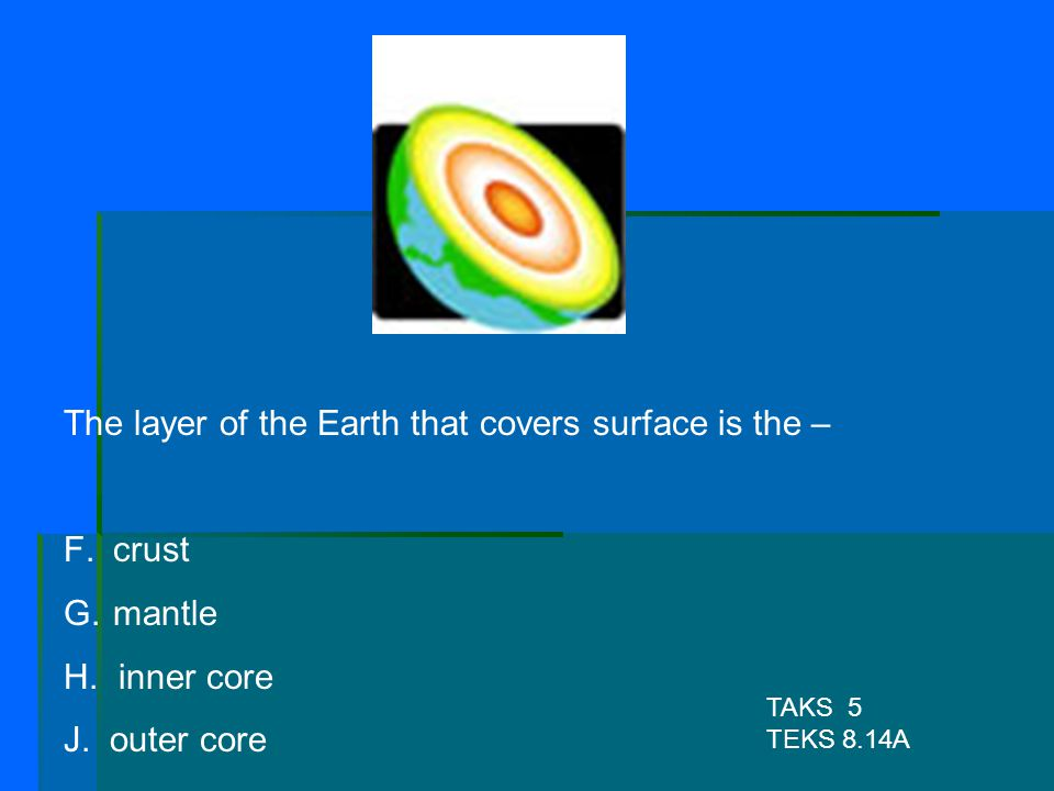 The layer of the Earth that covers surface is the –