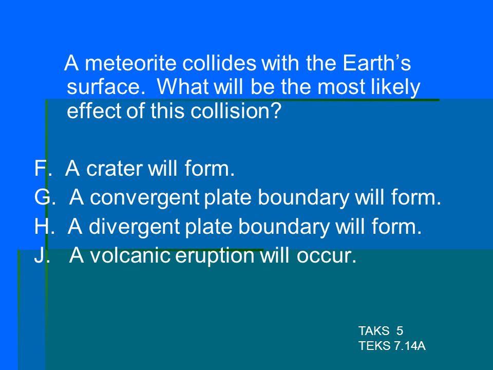 G. A convergent plate boundary will form.
