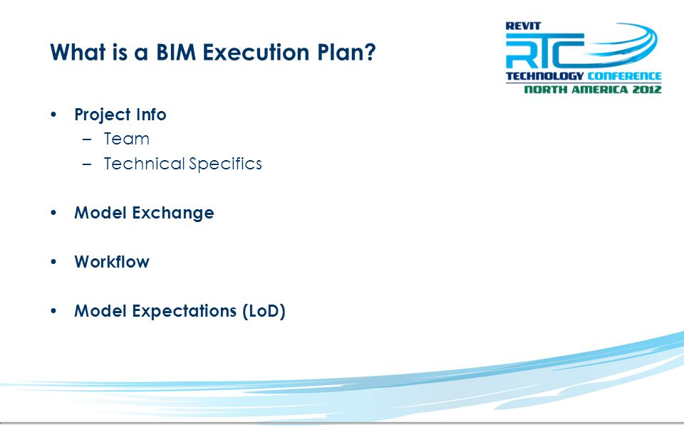 What is a BIM Execution Plan