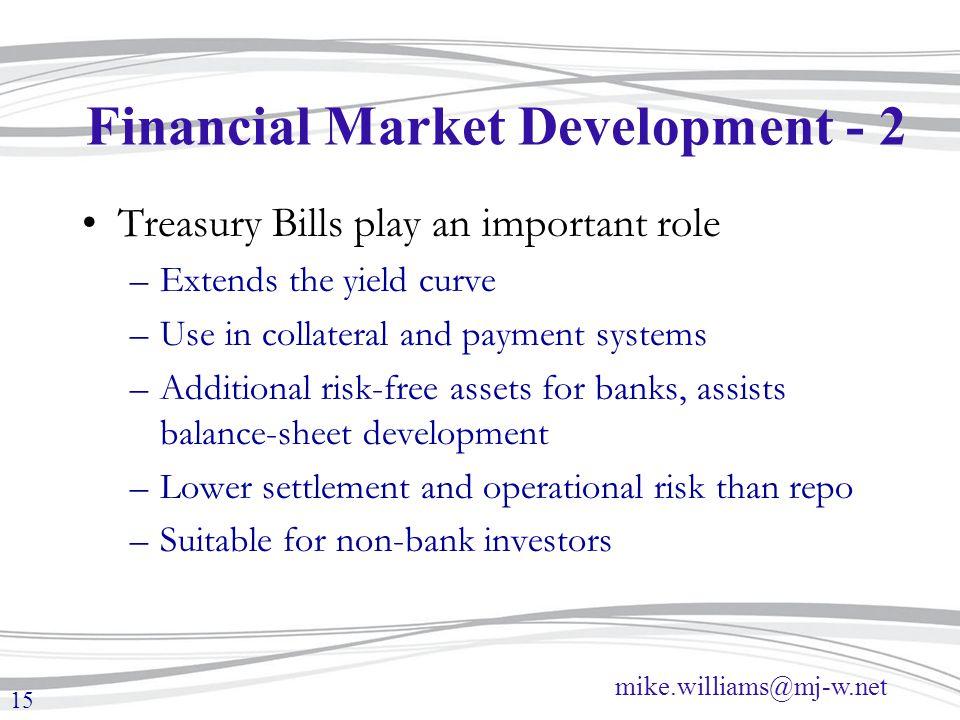 Financial Market Development - 2