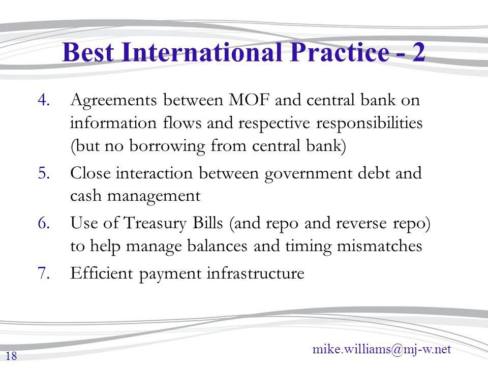 Best International Practice - 2
