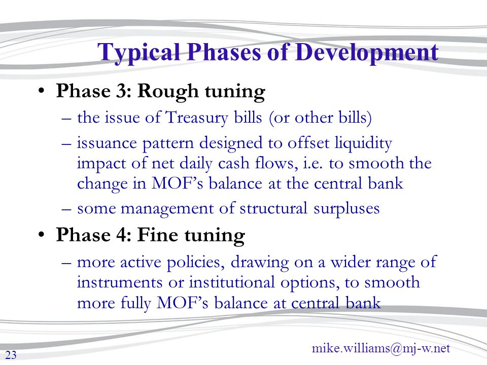 Typical Phases of Development
