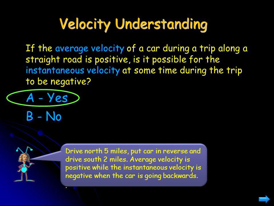 Velocity Understanding