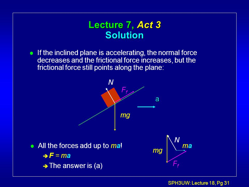 Lecture 7, Act 3 Solution