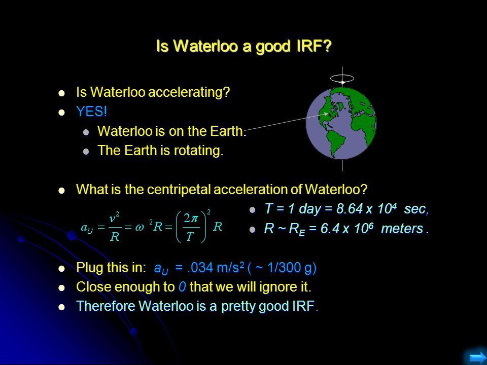Is Waterloo a good IRF Is Waterloo accelerating YES!