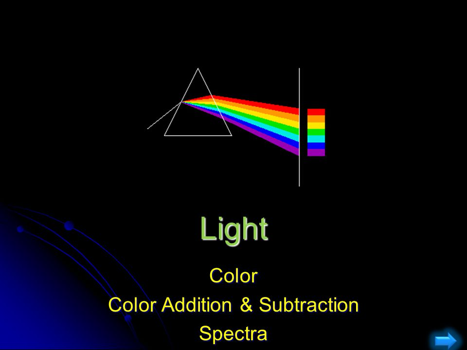 Color Color Addition & Subtraction Spectra