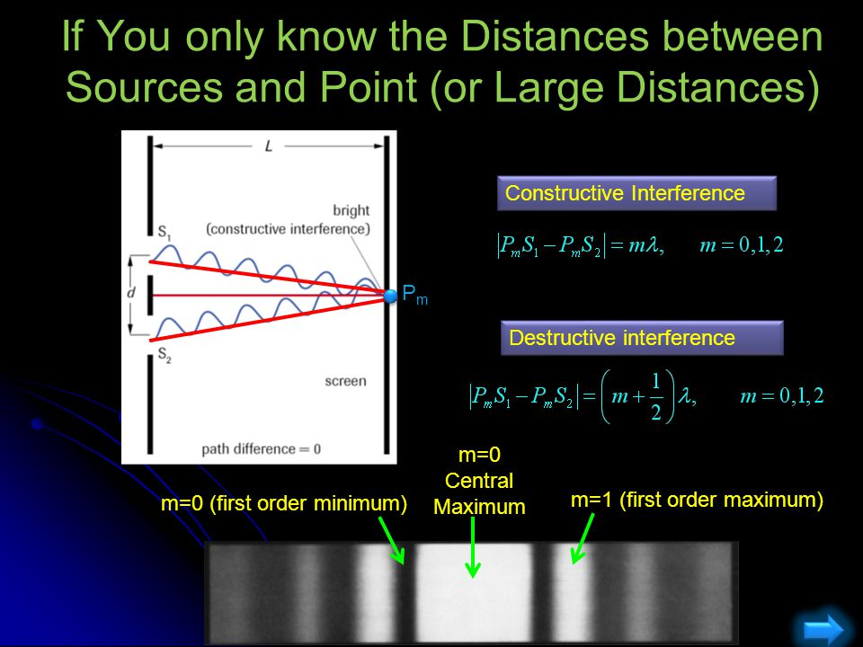 If You only know the Distances between Sources and Point (or Large Distances)