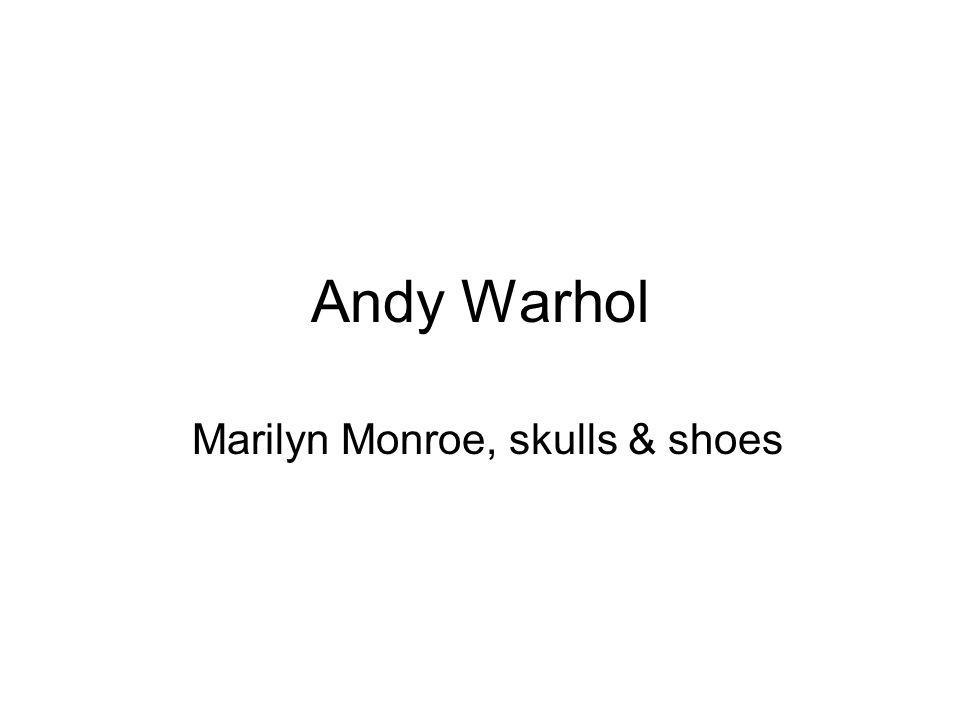 Marilyn Monroe, skulls & shoes