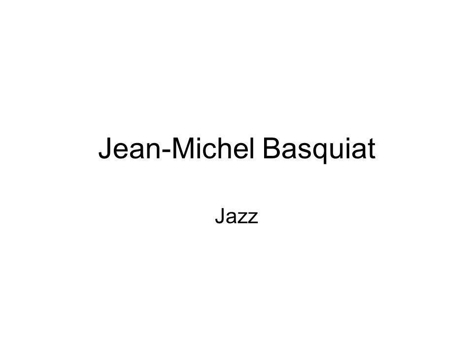 Jean-Michel Basquiat Jazz