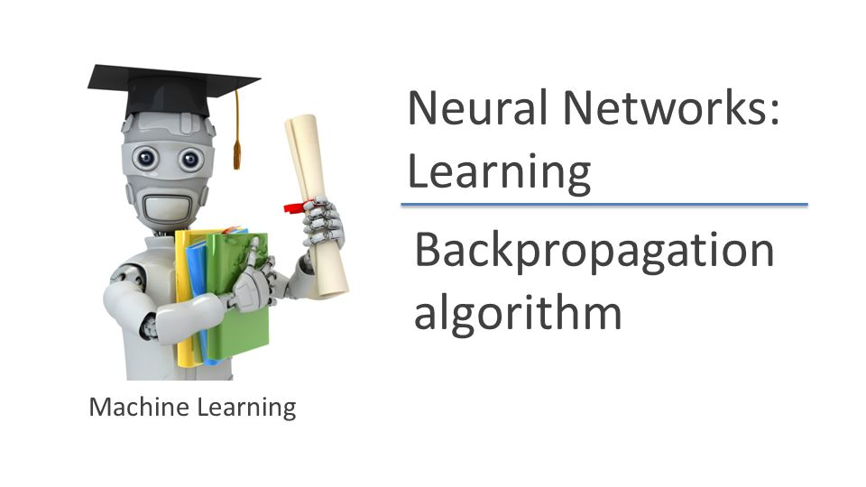 Backpropagation algorithm