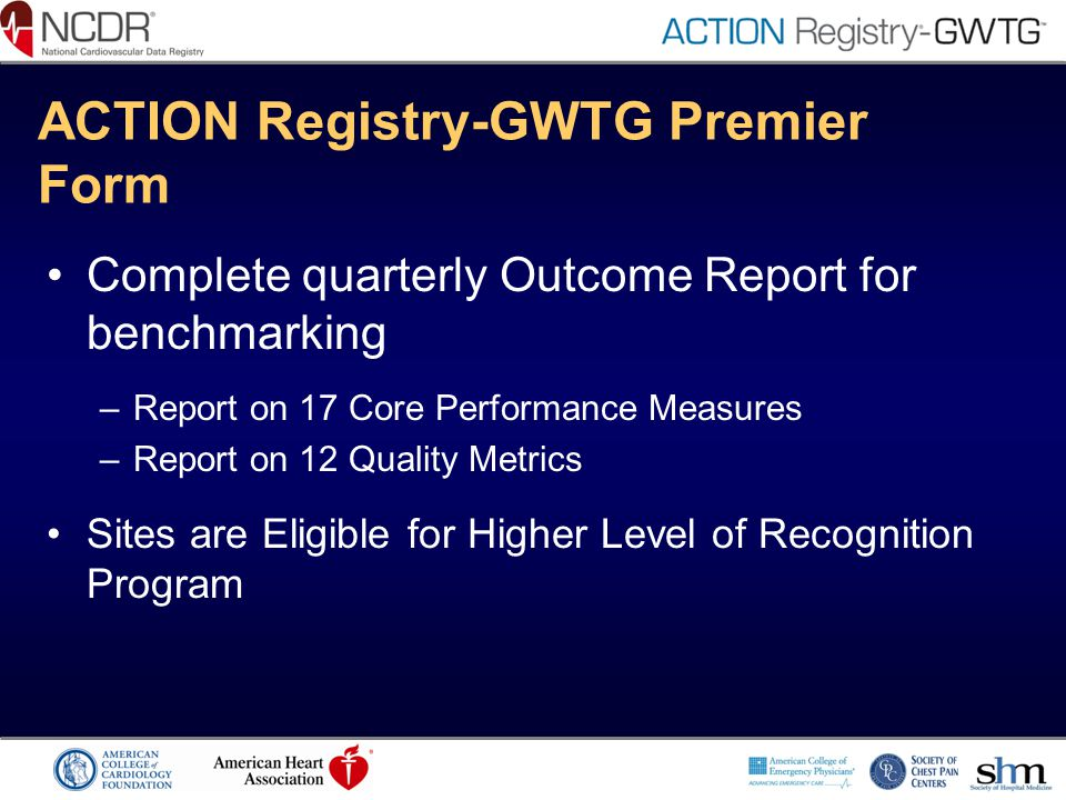 ACTION Registry-GWTG Premier Form