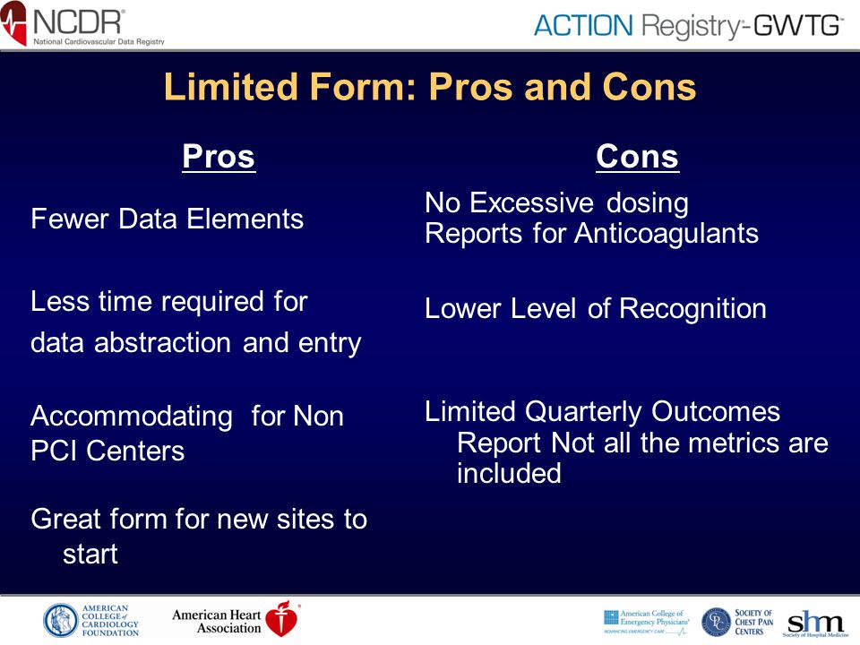 Limited Form: Pros and Cons