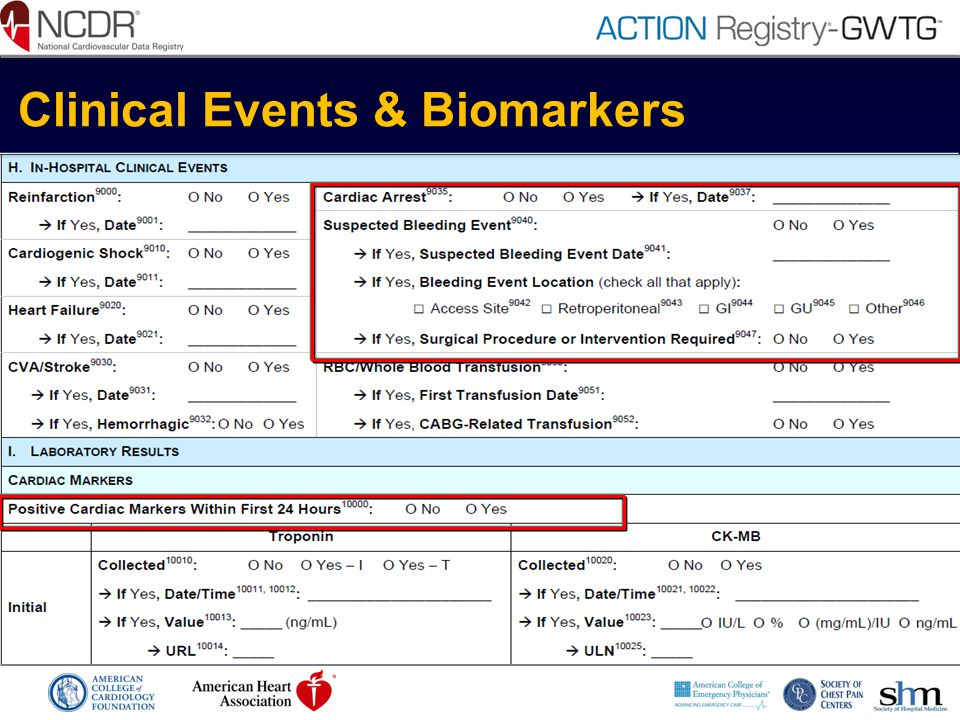 Clinical Events & Biomarkers