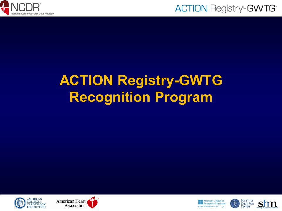 ACTION Registry-GWTG Recognition Program