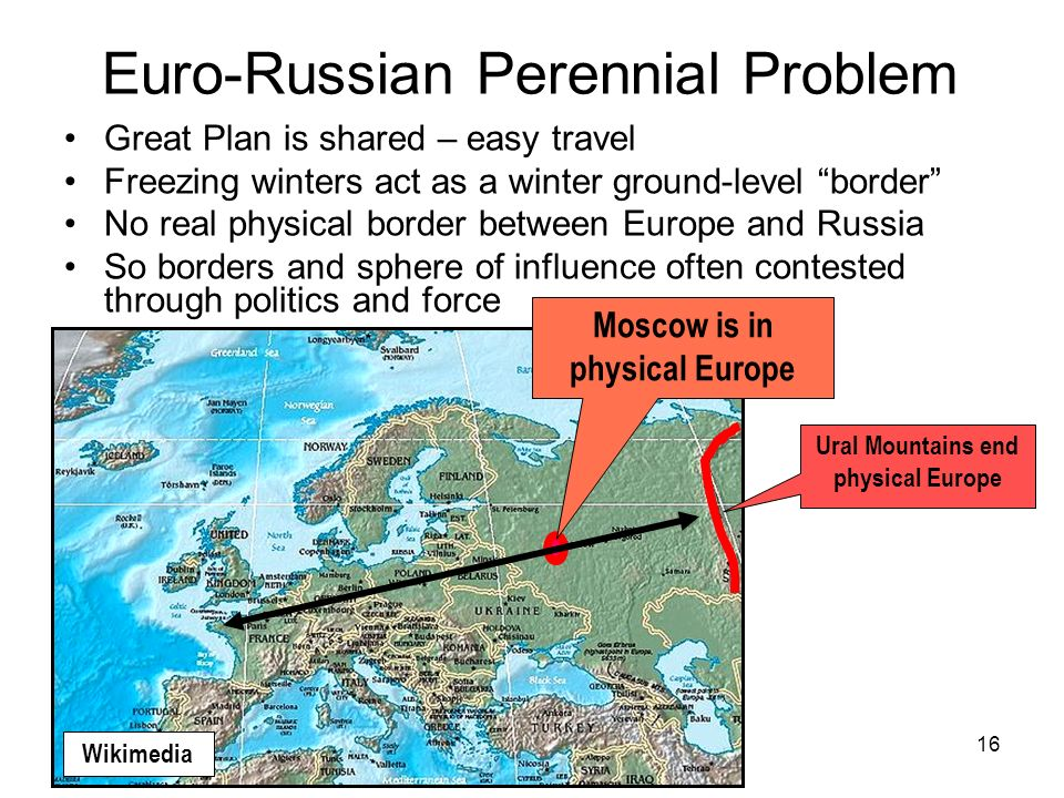 Euro-Russian Perennial Problem