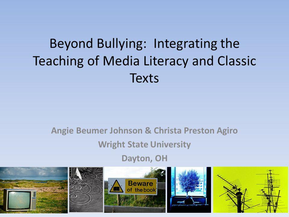 Angie Beumer Johnson & Christa Preston Agiro Wright State University