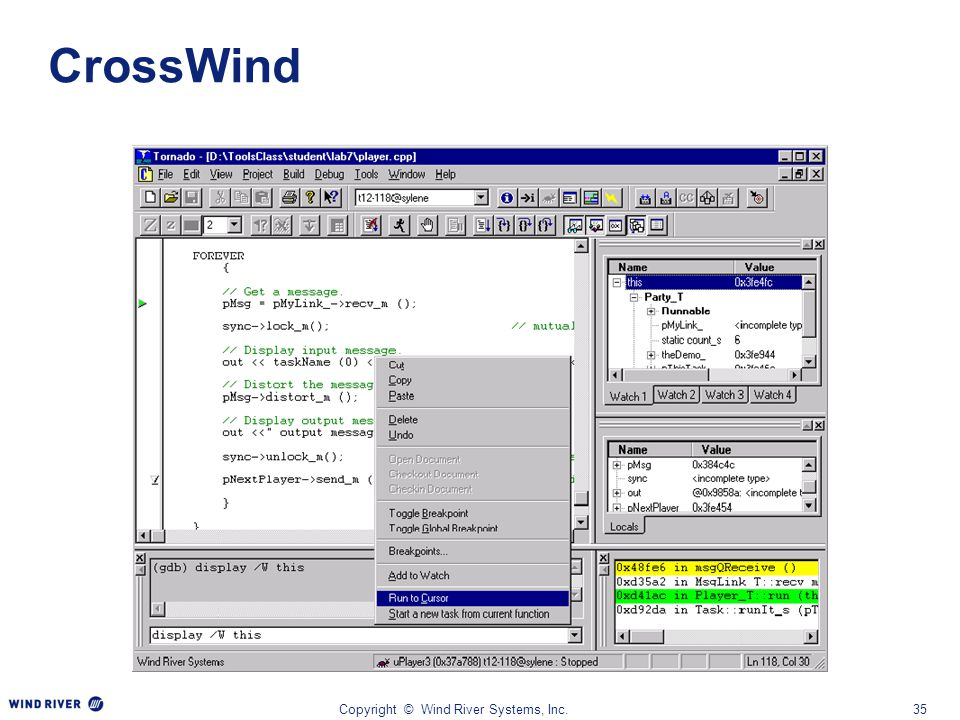 WINDSPRINT - PLATFORM FOR INDUSTRIAL DEVICES