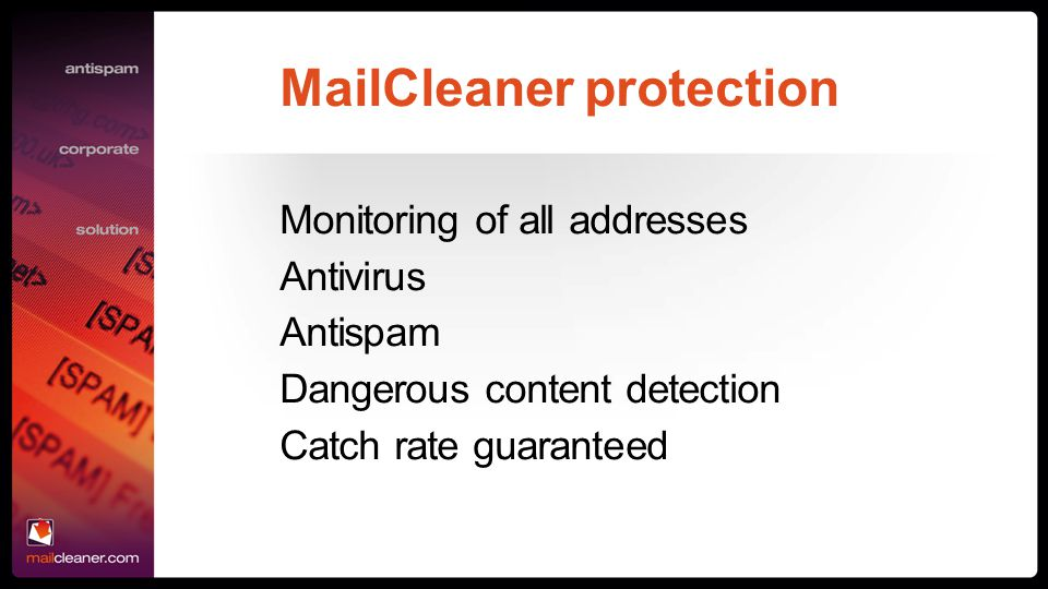 MailCleaner protection