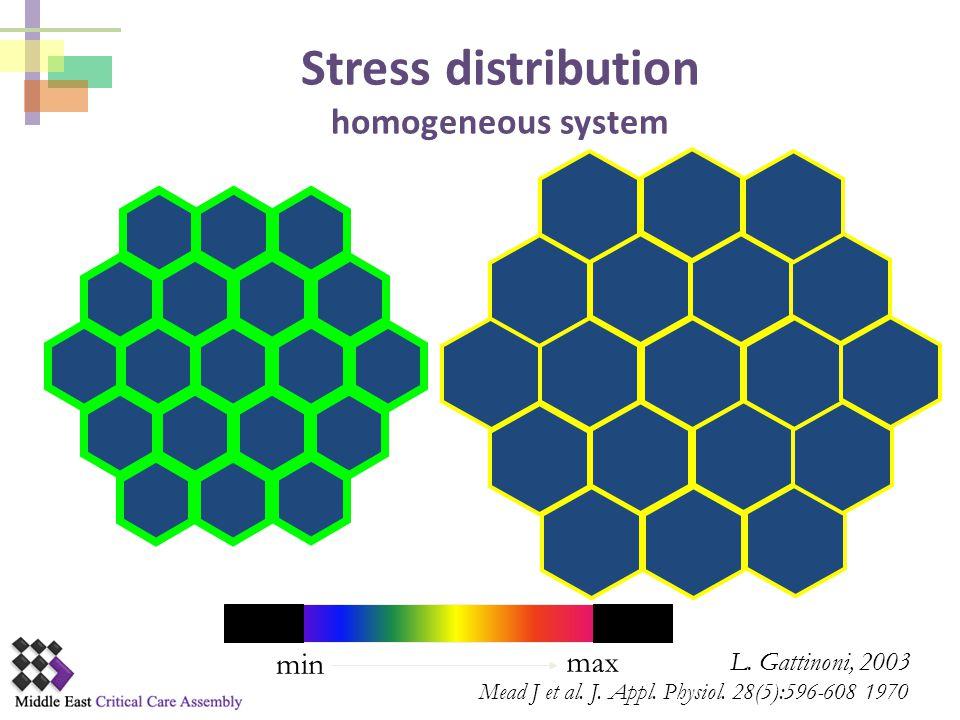 Stress distribution homogeneous system