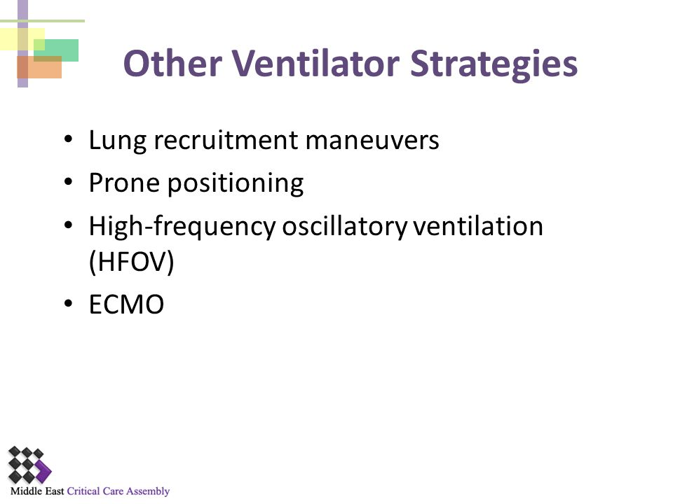 Other Ventilator Strategies