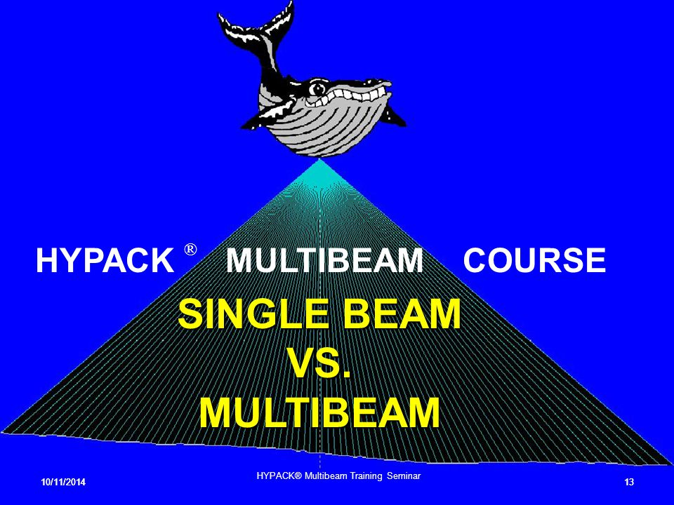 SINGLE BEAM VS. MULTIBEAM