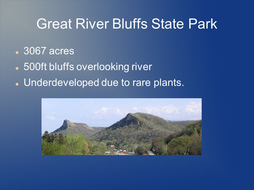 Great River Bluffs State Park