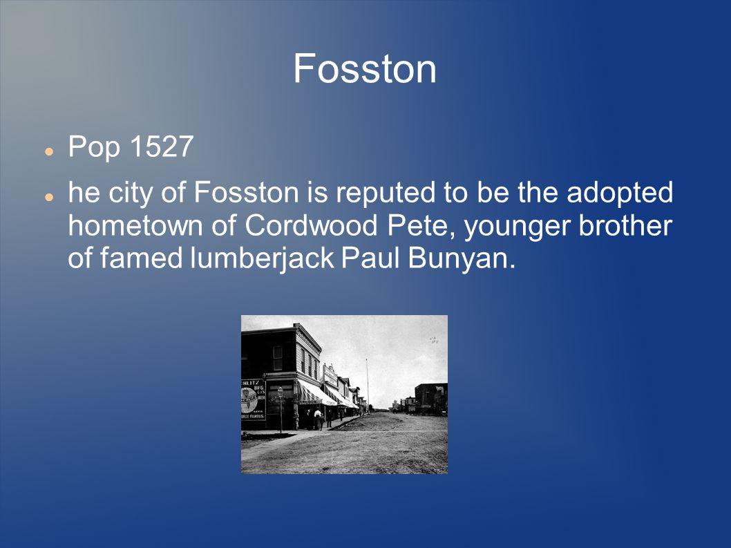 Fosston Pop 1527.