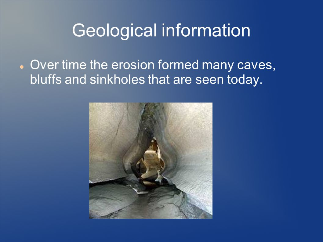 Geological information