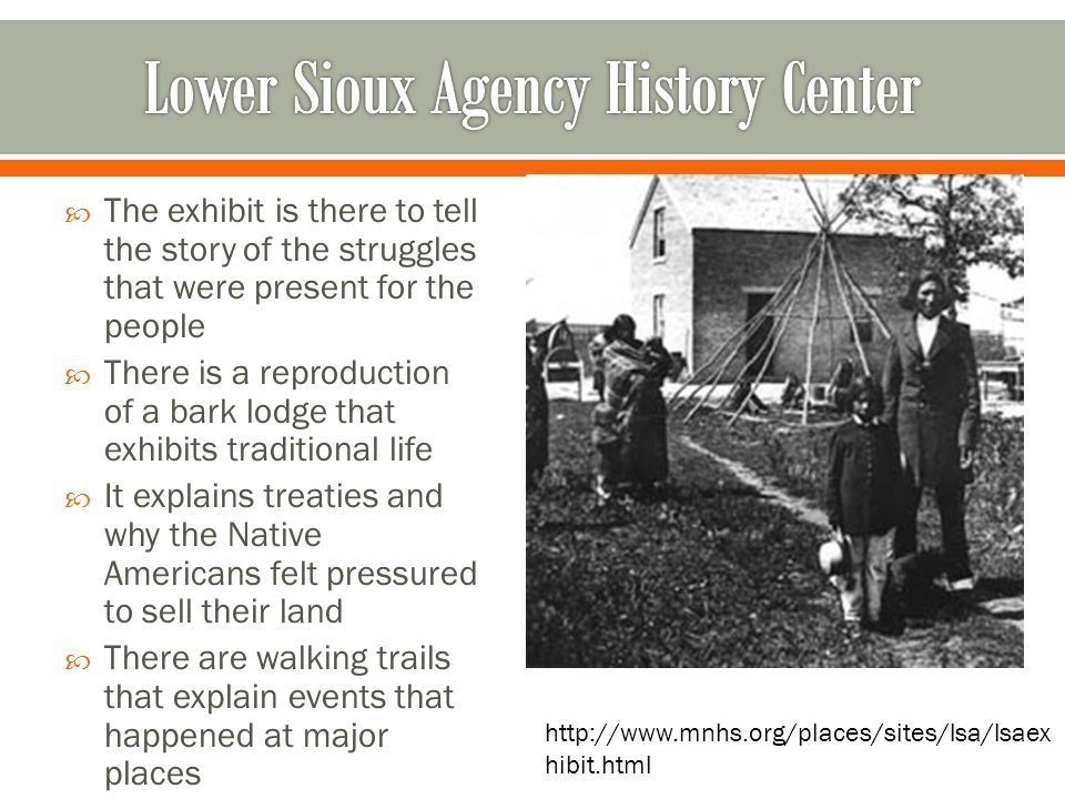 Lower Sioux Agency History Center