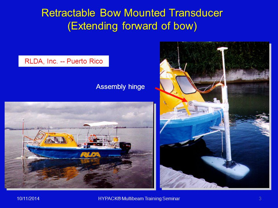 Retractable Bow Mounted Transducer (Extending forward of bow)