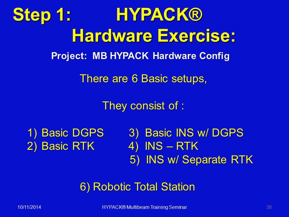 HYPACK® Multibeam Training Seminar