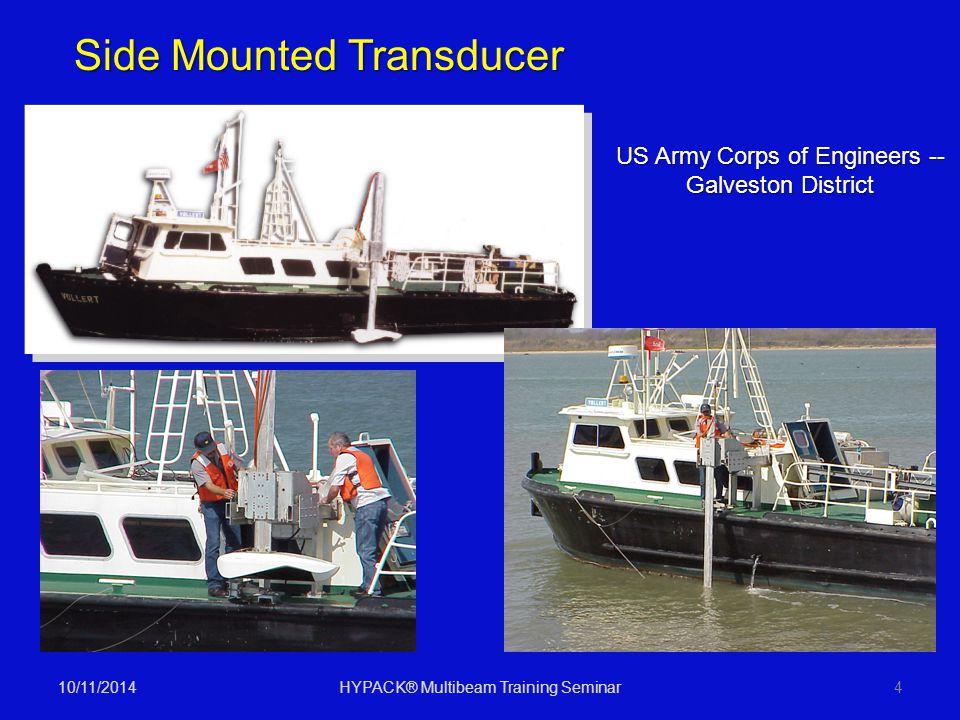 Side Mounted Transducer
